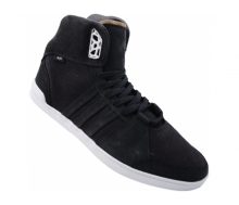 SLVR HOOPS MID Canvas Leather